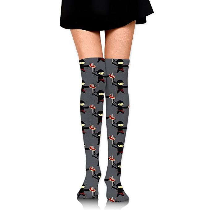 Pizza Ninja Womens Knee High Socks Fancy Design, Best For ...