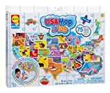 united states plastic puzzle - ALEX Toys Rub a Dub USA Map in the Tub