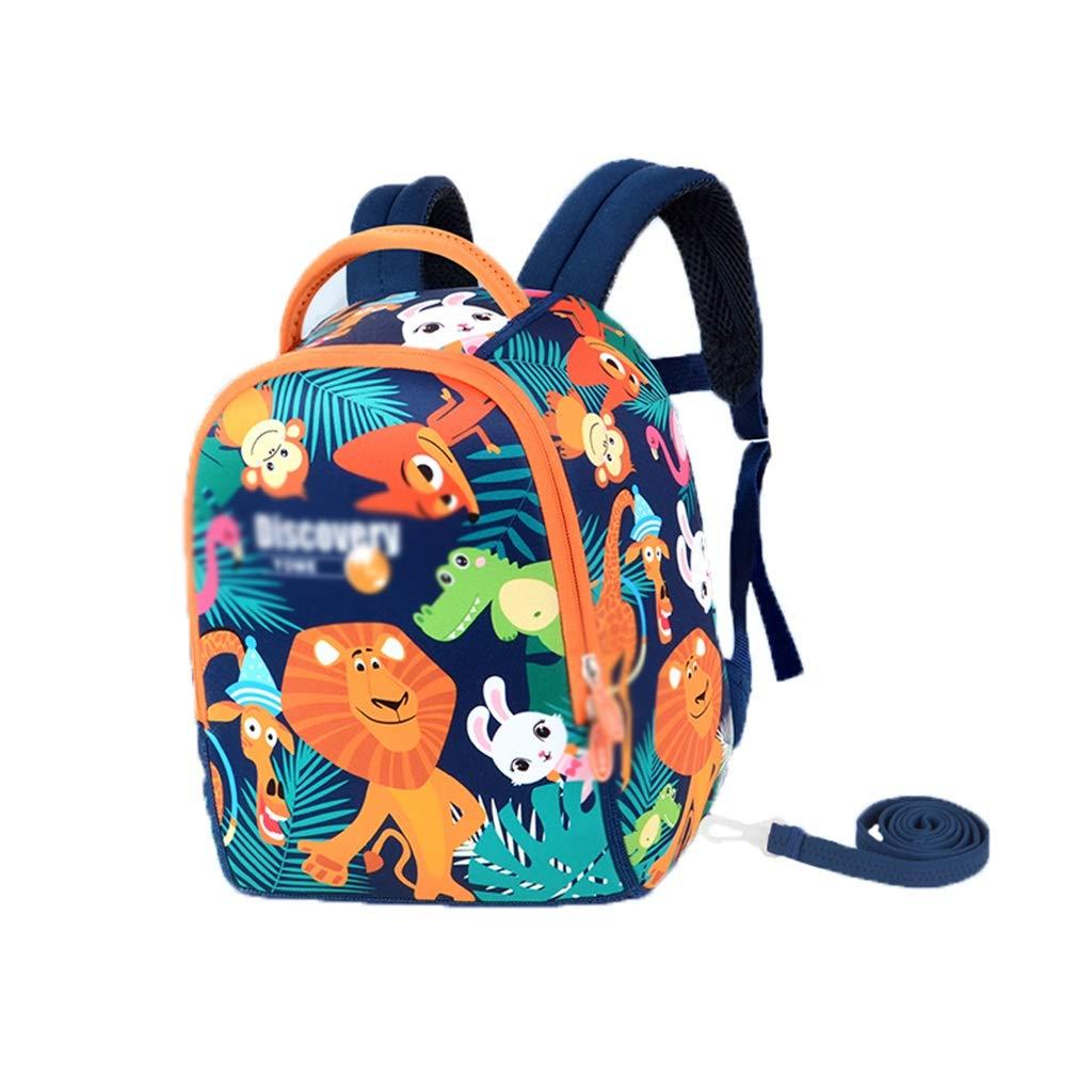 LMETBB Toddler Baby, Anti-Lost Lost Cartoon Backpack, Safety Backpack Kid Anti-Lost, Toddler Backpack, Cute Cartoon Backpack, Anti-Slip Buckle Design, boy Girl (Color : B)