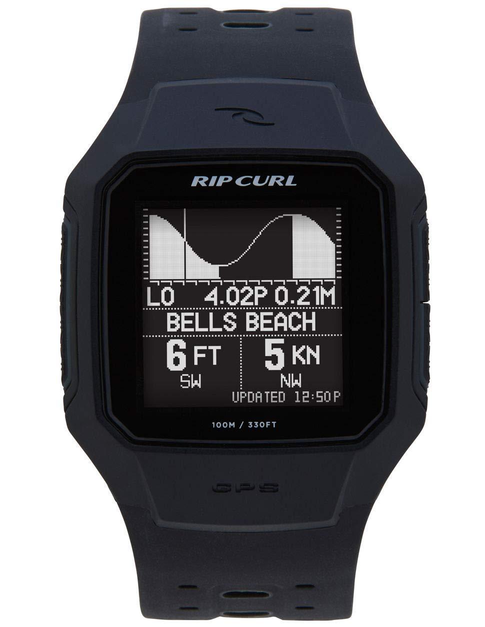 RIP CURL Search GPS Series 2 Smart Surf Uhr Schwarz A1144