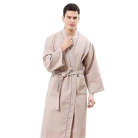 Toallas De Baño Albornoz Modelos para parejas Poliéster Toalla de algodón Pijamas de confort Primavera y