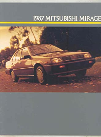 1987 Mitsubishi Mirage Turbo Brochure