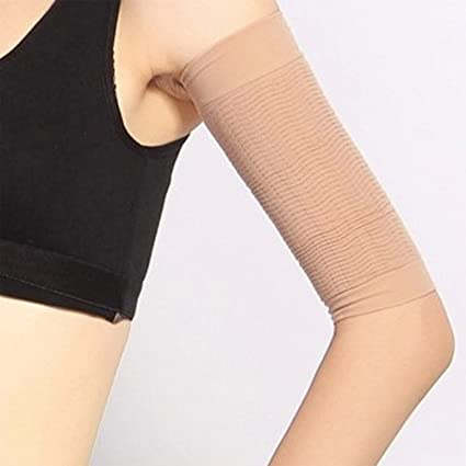 a845244529 Visork Compression Arms Slimming Sleeve Arm Slimmer Shaper Upper Sports Fat  Loss Sleeve For Women Lady Girls 1 Pair: Amazon.co.uk: DIY & Tools