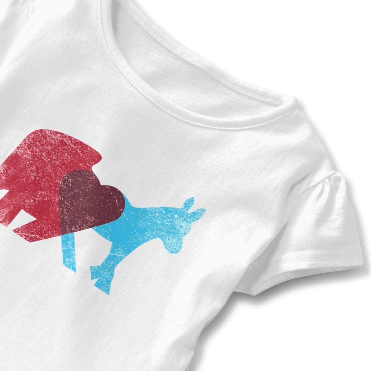 Share Opinions Little Girls Short Sleeve Graphic Tops