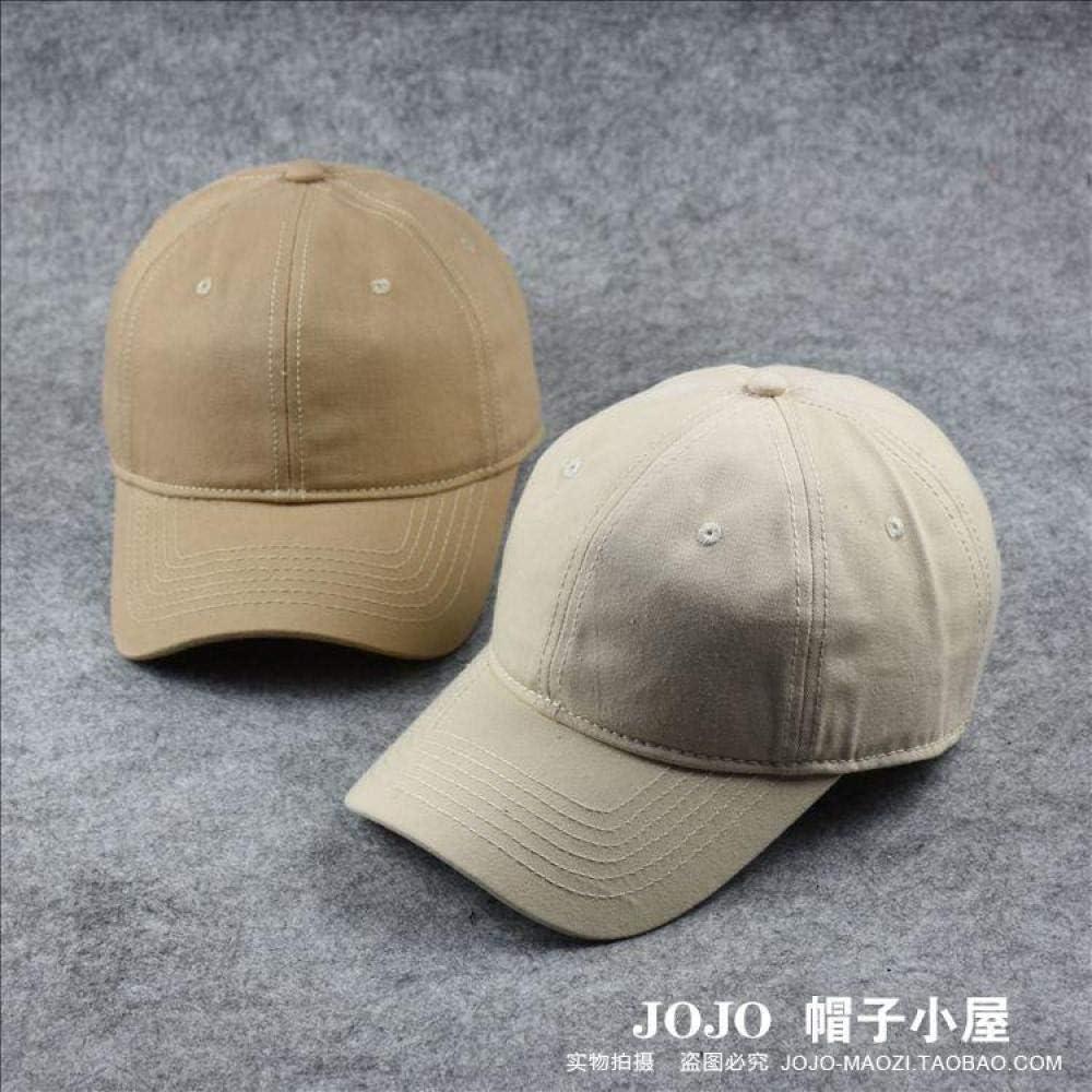 Gorra de béisbol de una Sola Capa Gorra de Color sólido Cuatro ...