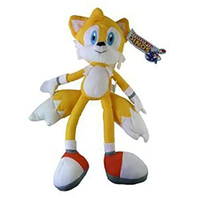 13.5 Inch Sonic the Hedgehog Tails Plush Doll: Toys & Games