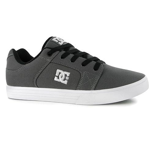 DC Hombre Method Skate Zapatos Zapatillas Con Cordones Calzado Casual Gris 44: Amazon.es: Zapatos y complementos