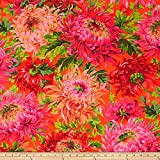 Kaffe Fassett Shaggy Red Fabric By The Yard