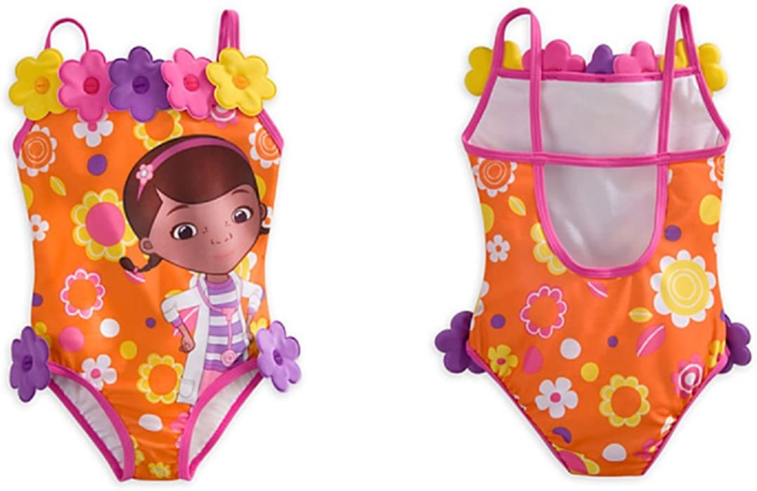 2c16f236c9954 Disney - Doc Mcstuffins Swimsuit for Girls - Size 5/6 - New with Tags