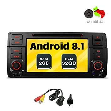"Freeauto Para BMW E46/320/325 Quad Core 7 ""Android 8.1 Estéreo"