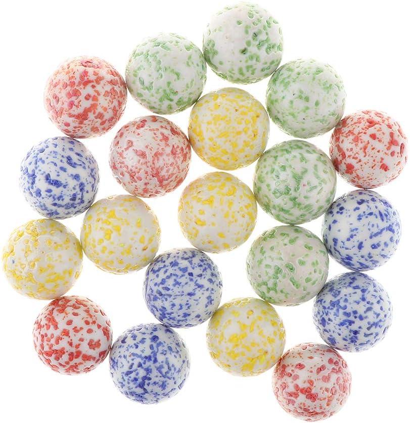 180Pcs Mischfarbe Murmeln Glasmurmeln Glaskugeln Klicker Spielzeug,