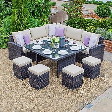 Pleasant Maze Rattan Outdoor Rattan Garden Furniture By Deluxe Frankydiablos Diy Chair Ideas Frankydiabloscom