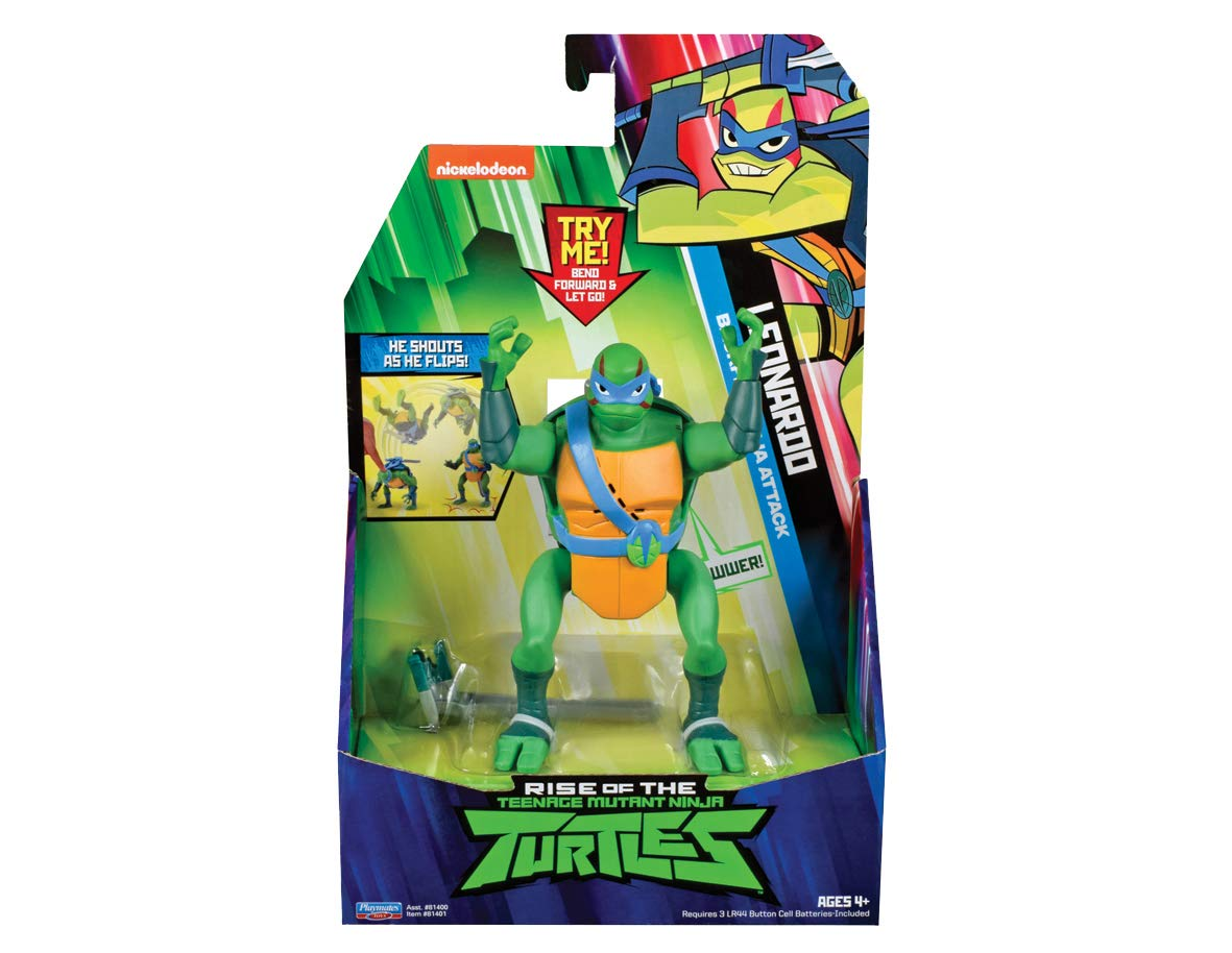 Figura de Mutant Ninja Turtles con dise/ño de Tortuga de la Risa Leonardo TUAB2100