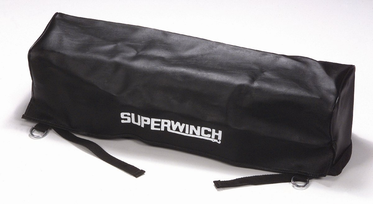 winch Superwinch 1566 Cover low profile winches with a control box installed; Inside Dim: 25-3//8L x 6-3//4D x 6-3//8H vinyl
