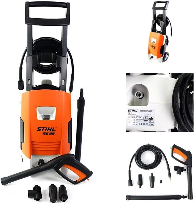 Stihl RE 88 - Hidrolimpiadora de Alta presión para la casa, el jardín y los vehículos: Amazon.es: Hogar