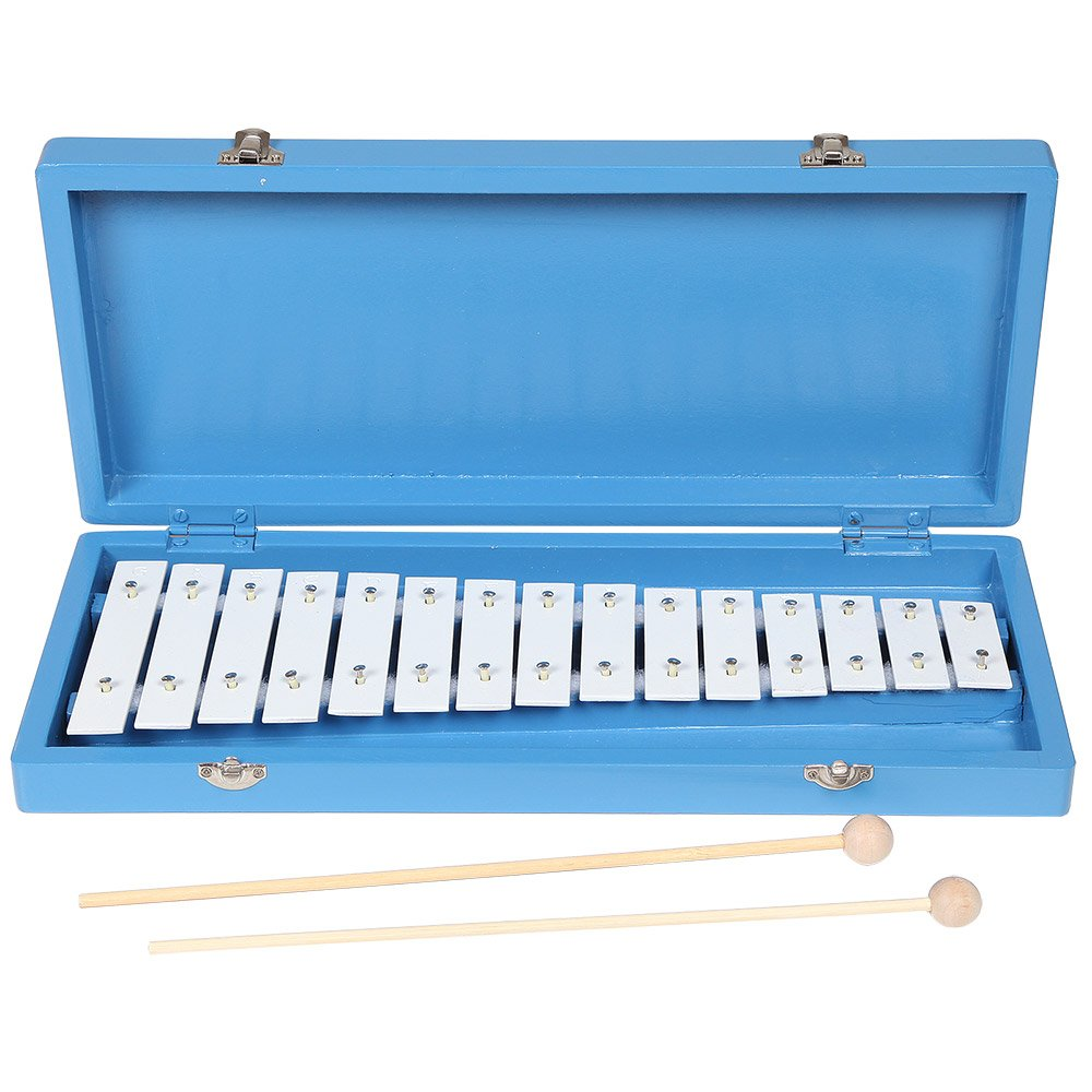 X8 Drums & Percussion X8-GLK-15 Student Glockenspiel with Case and Mallets