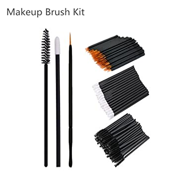 Amazon Com Mascara Wands Disposable Lip Brush Disposable Makeup