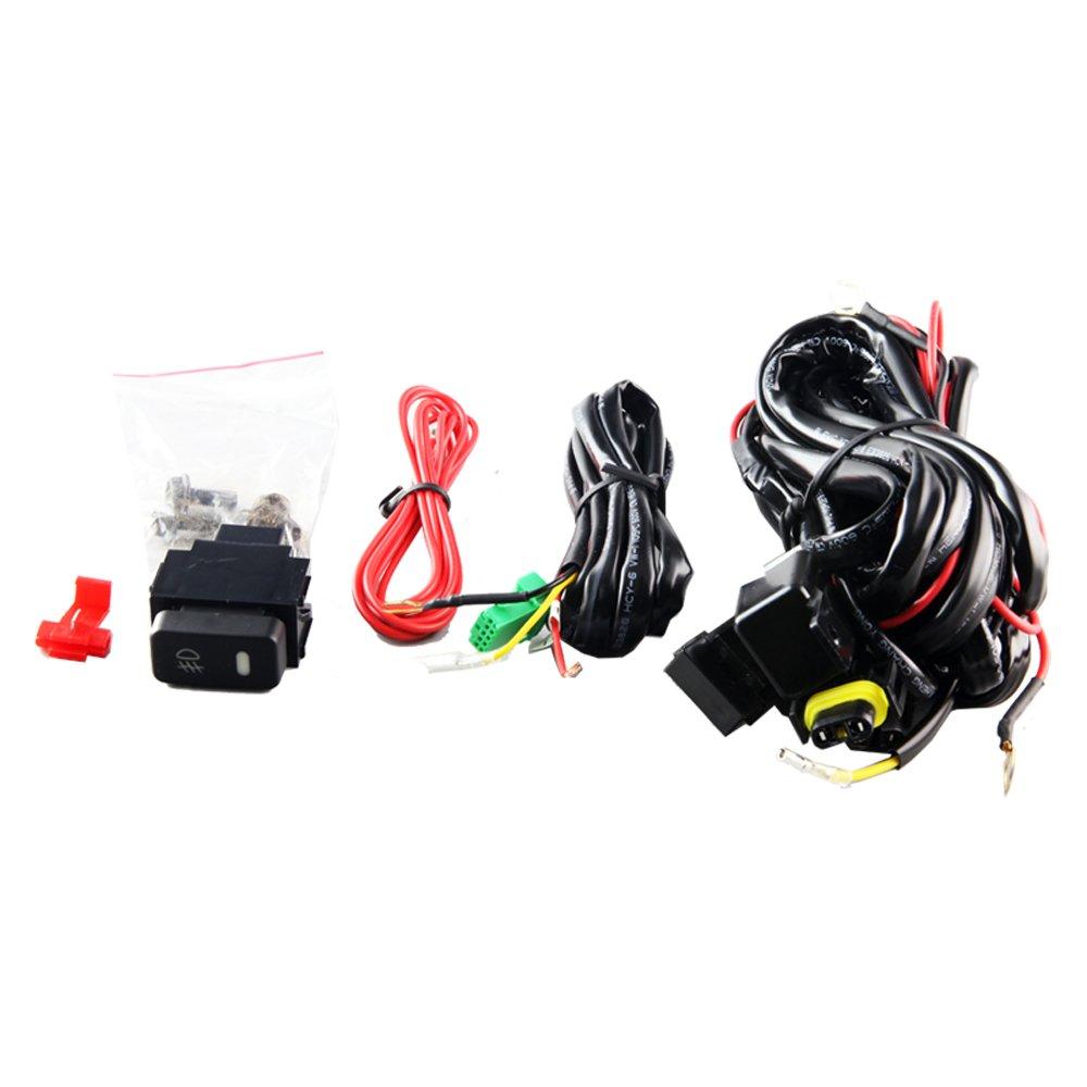 Amazon.com: Winjet WJ30-0406-09 Clear Lens Fog Light Kit (Nissan ...