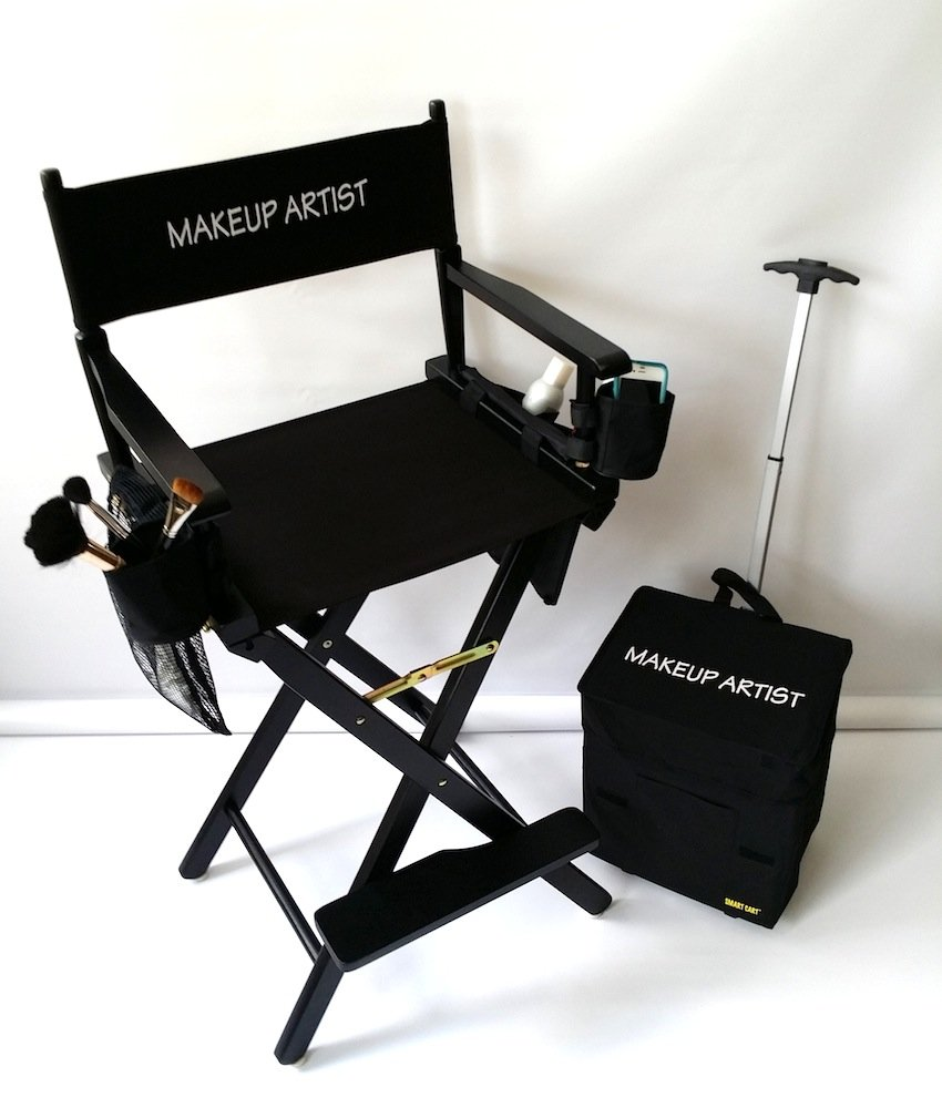 Ordinaire Amazon.com: MAKE UP ARTIST TALL DIRECTOR CHAIR HEAVY DUTY CONSTRUCTION High  Quality Product 5 YEARS WARRANTY A BONUS SOLAR RECHARGEABLE LED LIGHT  INCLUDED ...