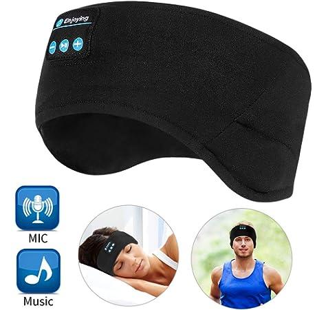 DecentGadget/® Sleeping Headband Headphone Black