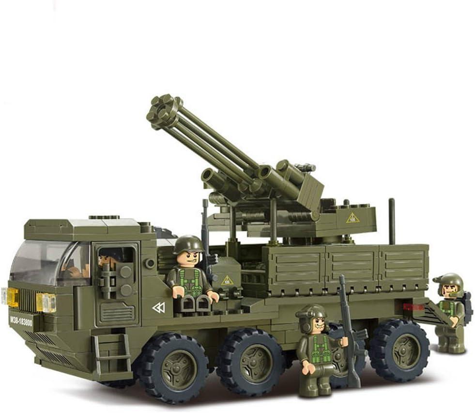 SLUBAN M38-B0287 ARMY TANK BUILDING BLOCKS KIT