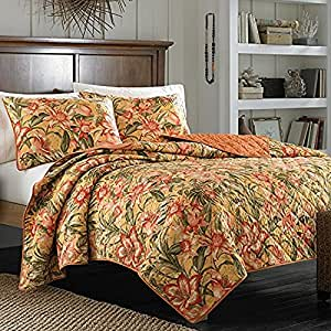 Amazon Com King Quilt Tommy Bahama Tropical Lily Home