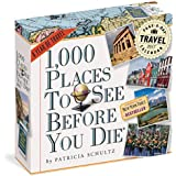 1,000 Places to See Before You Die Color Page-A-Day Calendar 2016