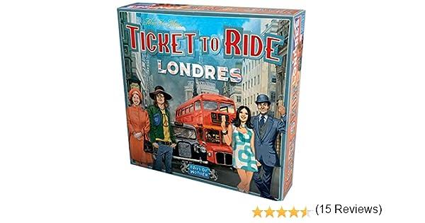Days of Wonder-¡Aventureros al Tren Londres ES/PT, Color ...