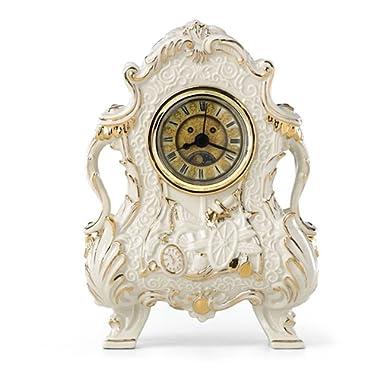 Disney Lenox Beauty and the Beast Cogsworth Clock