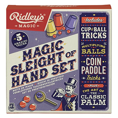 Ridley's ARID307 Sleight of Hand Magic and Tricks Set, Multicolor (Pack of - Sleight Of Coin Hand Tricks
