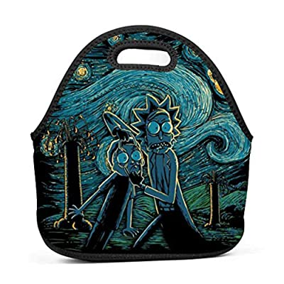 BLKDA25B Resistant Portable Lunch Bag Starry Science Carry Case Tote