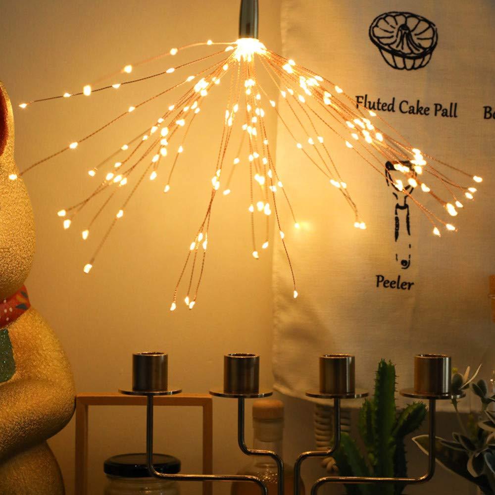 Feuerwerk LED Lichter,200er lED IP67 Fernbedienung Feuerwerk Lampe ...
