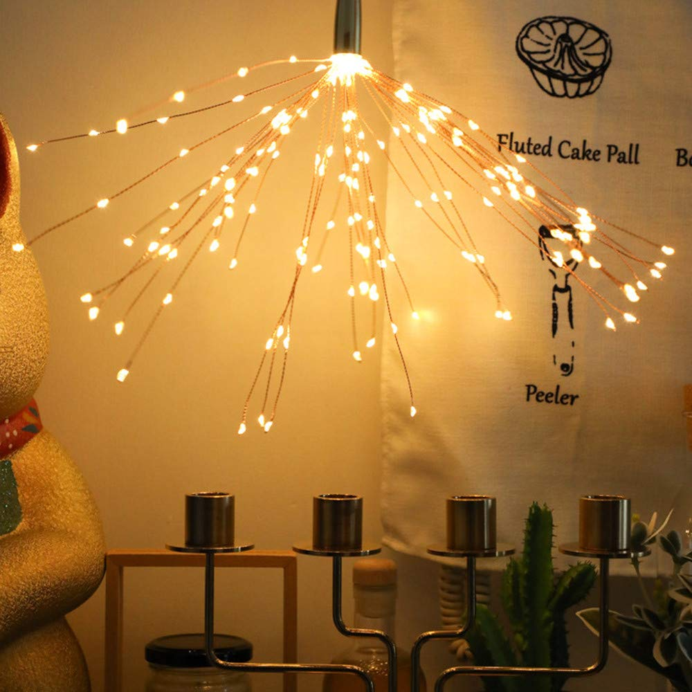 LED Light,coersd Fireworks Lamp String Decoration Light String Outdoor Courtyard Lighting