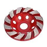 Concord Blades GCX070FHP 7 Inch Swirl I-Turbo Diamond Cup Wheel with 5//8-11 Thread
