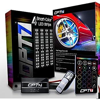 Amazon Com Opt7 3 Into 1 Aura Wheel Well Led Kit 4pc