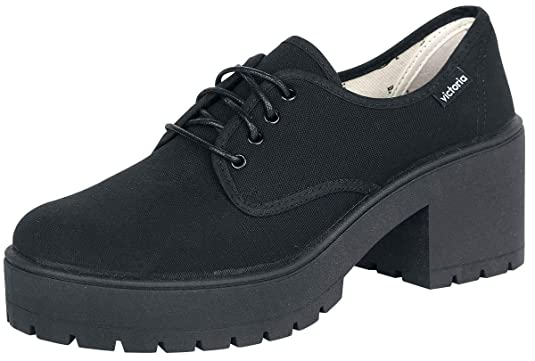 Zapatillas Victoria 09501 - Tácon de Lona: Amazon.es: Zapatos y complementos