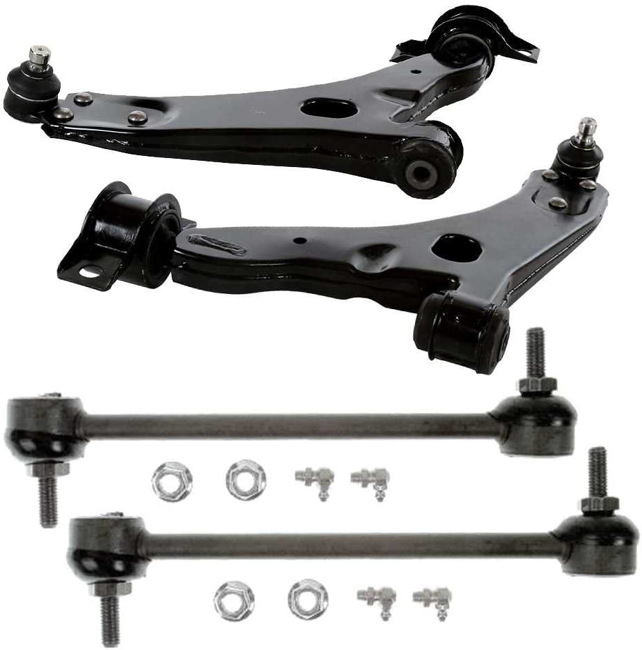 Auto Shack SUSPKG11020 Front Two Control Arms and Two Sway Bars