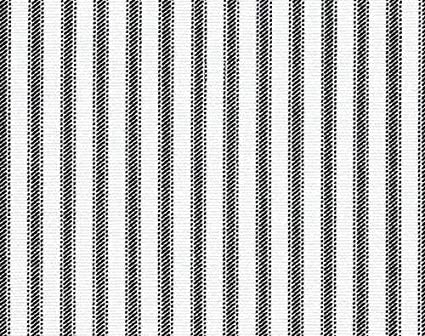 Amazon Com Ticking Fabric Upholstery Fabric Black And White Fabric