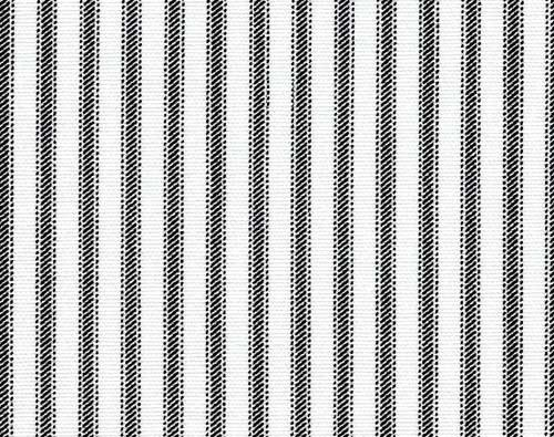 Ticking Fabric Upholstery Fabric Black and White Fabric Curtain Fabric Drapery Fabric Striped 54