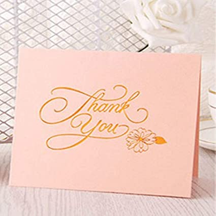 Amazon batop 1pc thank you english art words folding blessing batop 1pc thank you english art words folding blessing card merry christmas greeting card birthday wedding m4hsunfo