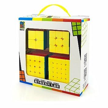 MoYu HJXDtech 2345 - Cubo de Velocidad: Amazon.es: Juguetes ...
