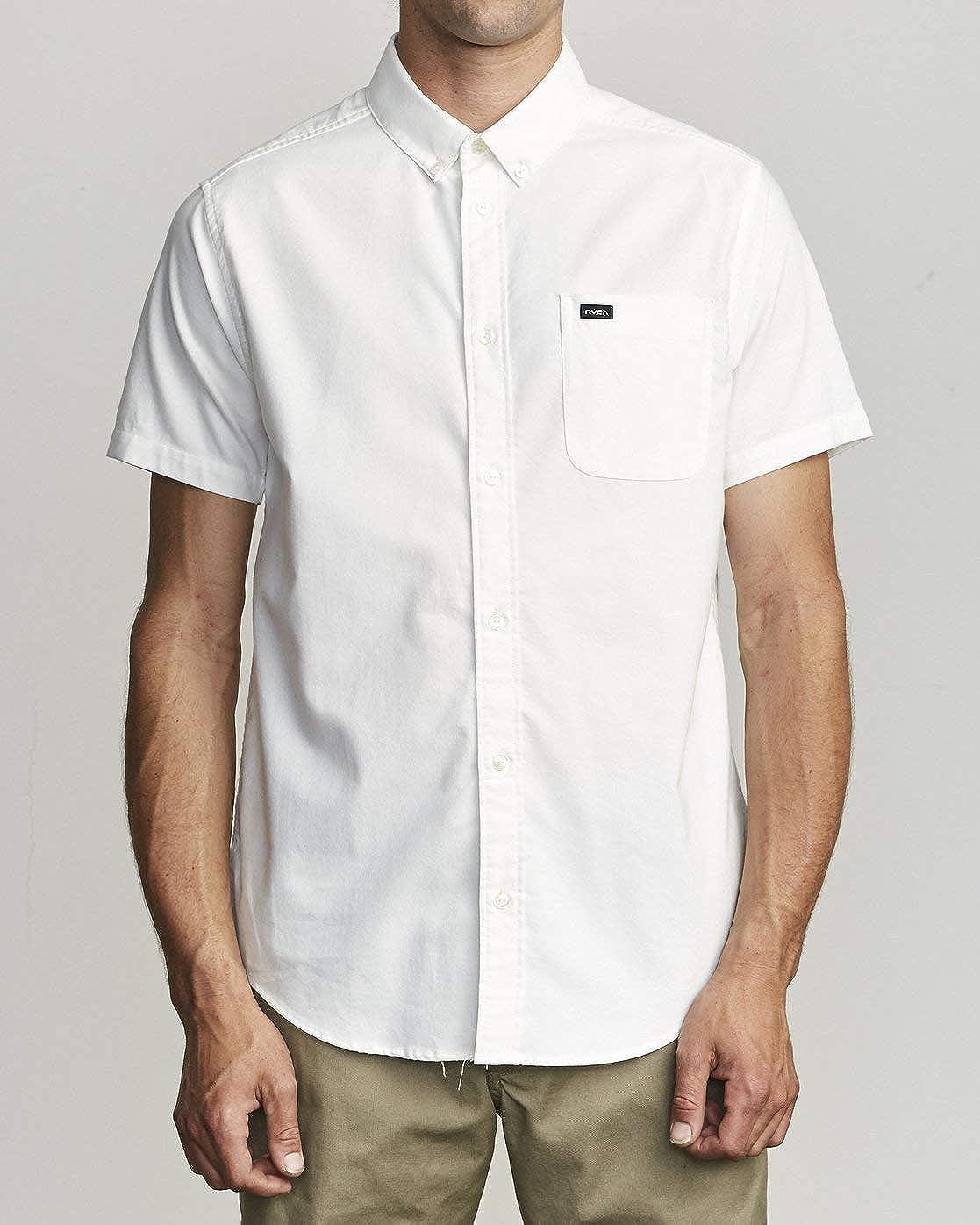 RVCA Men's That'll Do Stretch Button-Up Shirt