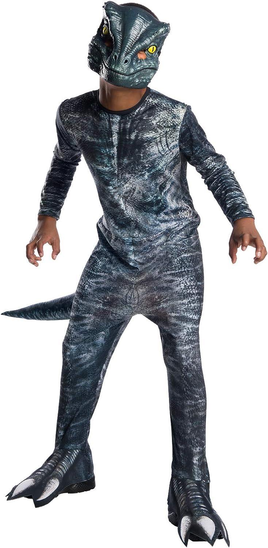 Jurassic World - Disfraz de dinosaurio Velociraptor para niños ...