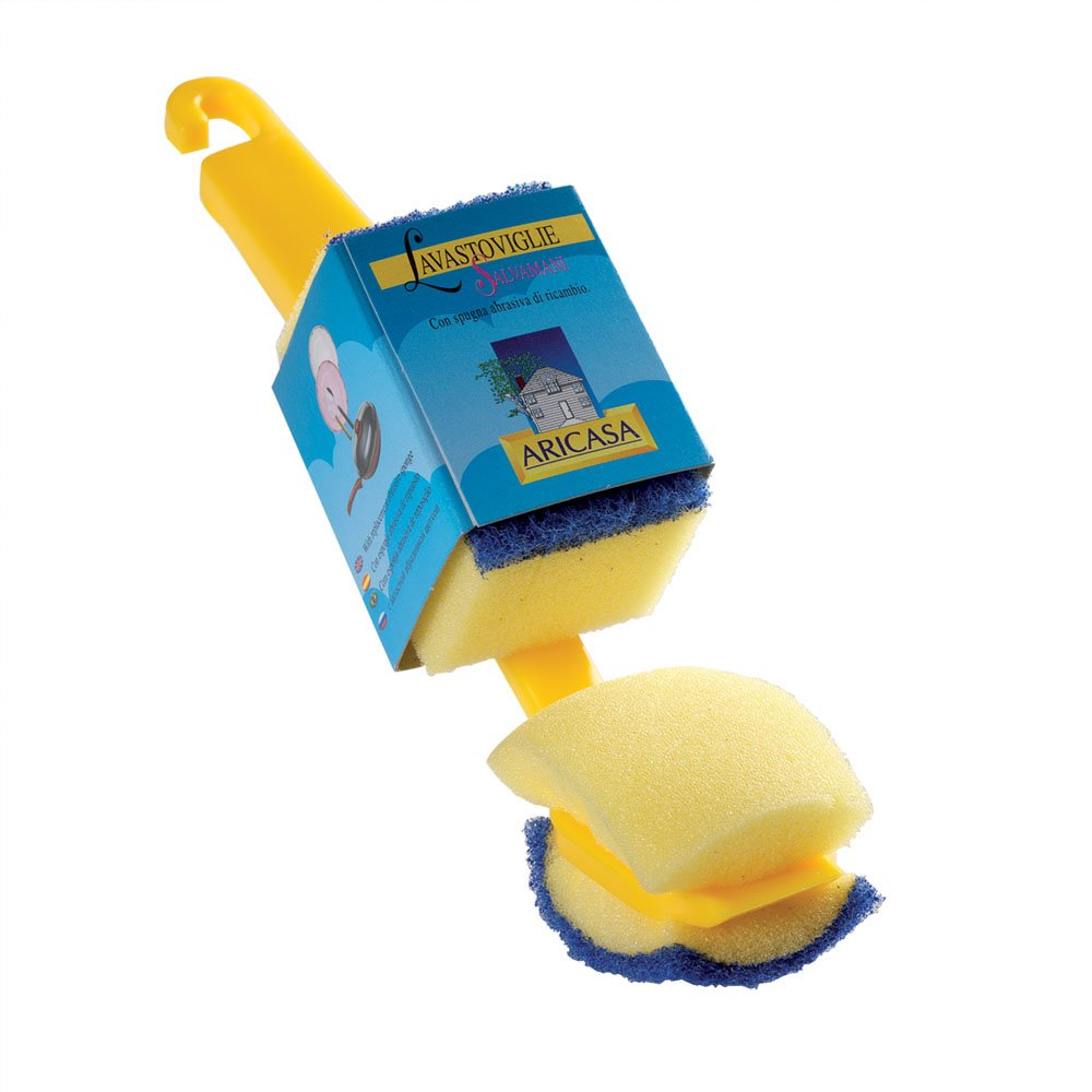 Aricasa Mec Mini Car Brush, Yellow/Blue, 25 count 403