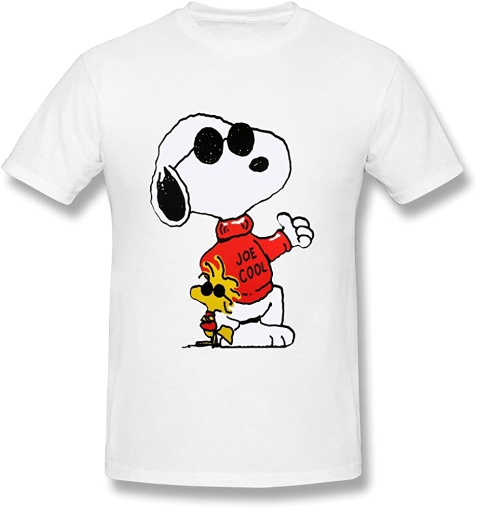 Childrens Kids Tee Shirt  SNOOPY Joe Cool on quality black cotton Kids T Shirt