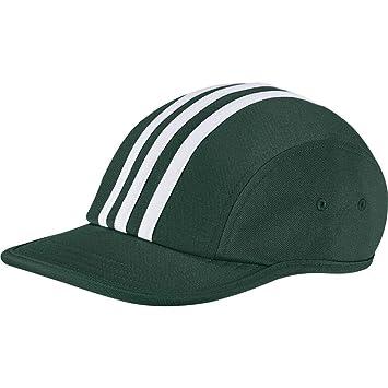 adidas Stripes4Panel Gorra de Tenis, Mujer, Verde (veruni), Talla ...