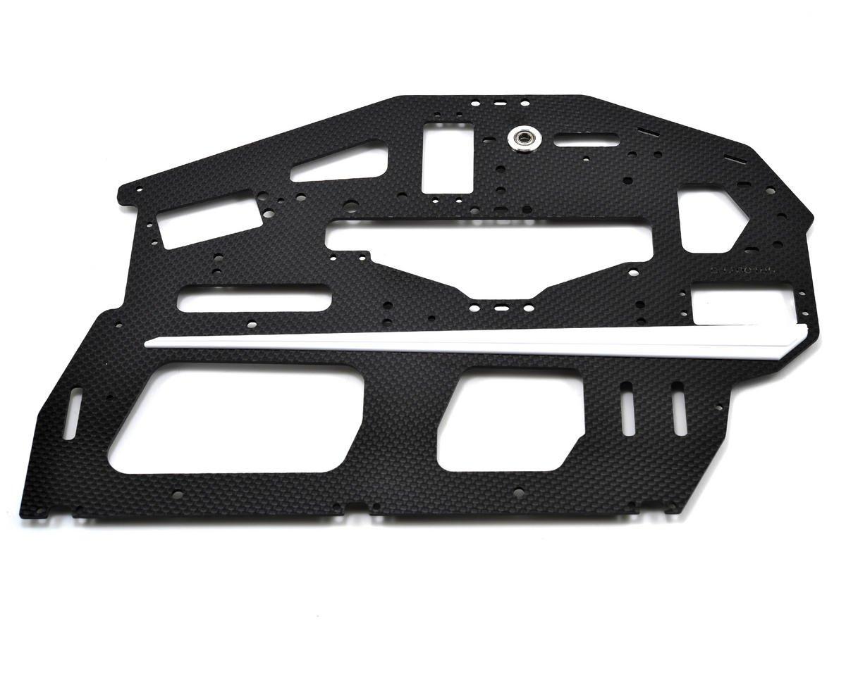 Chassis Seitenteil Carbon (L) / 2mm - T-Rex 700E