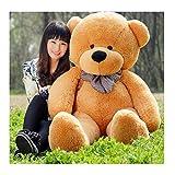 Fengheshun 6 Feet Giant Teddy Bear Stuffed Animal 70 Inch, Brown