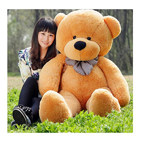 Mario Toad Costume Toddler (Fengheshun 6 Feet Giant Teddy Bear Stuffed Animal 70 Inch, Light brown)