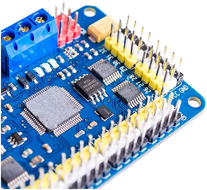 32Channel Servo Controller Board for PS2 USB//UART Connection for Robot Platform